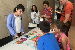 Japan Outreach Initiative coordinator in Texas teaches young Americans about Japan